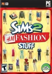 Box shot of The Sims 2 H&M Fashion Stuff [North America]