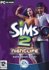 Box shot of The Sims 2 Nightlife [North America]