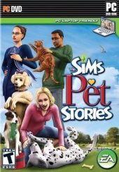 Box shot of The Sims Pet Stories [North America]