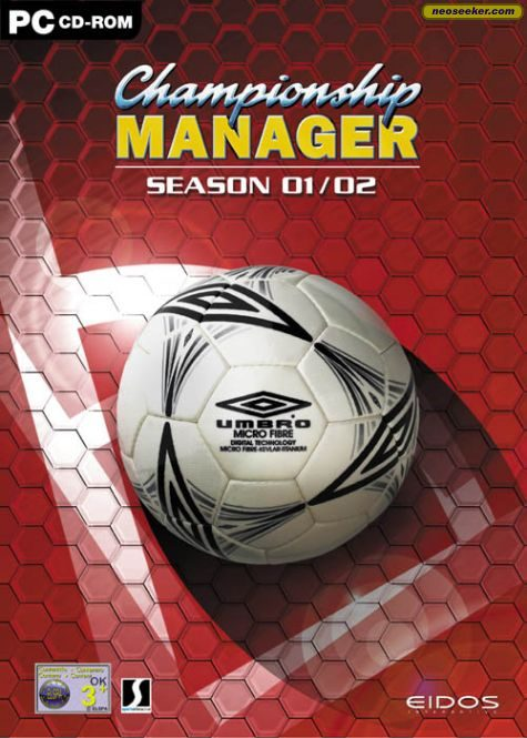 Championship Manager 01/02 - PC - PAL (Europe)