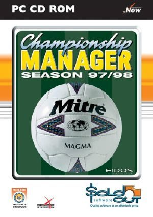 Championship Manager 97/98 - PC - PAL (Europe)