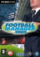 Box shot of Football Manager 2005 [Europe]