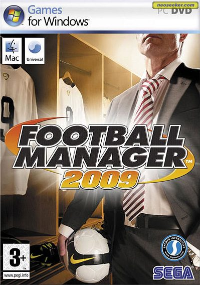 Football Manager 2009 - Front cover