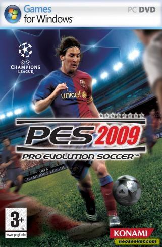Pro Evolution Soccer 2009 - PC - PAL (Europe)