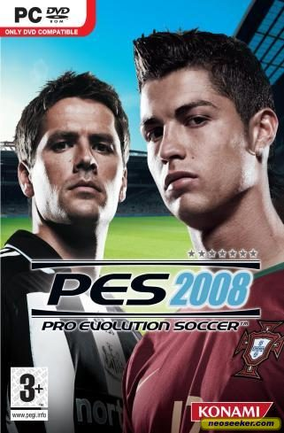 Winning Eleven: Pro Evolution Soccer 2008 - PC - PAL (Europe)