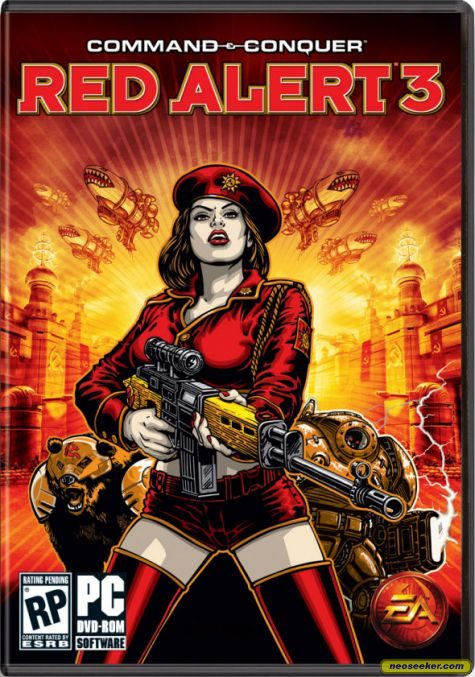 Red Alert 3 Vanessa Br...