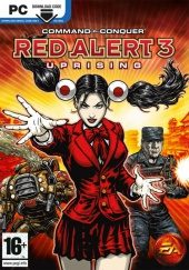 Box shot of Command & Conquer: Red Alert 3 Uprising [Europe]