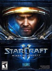 Box shot of Starcraft II: Wings of Liberty [North America]