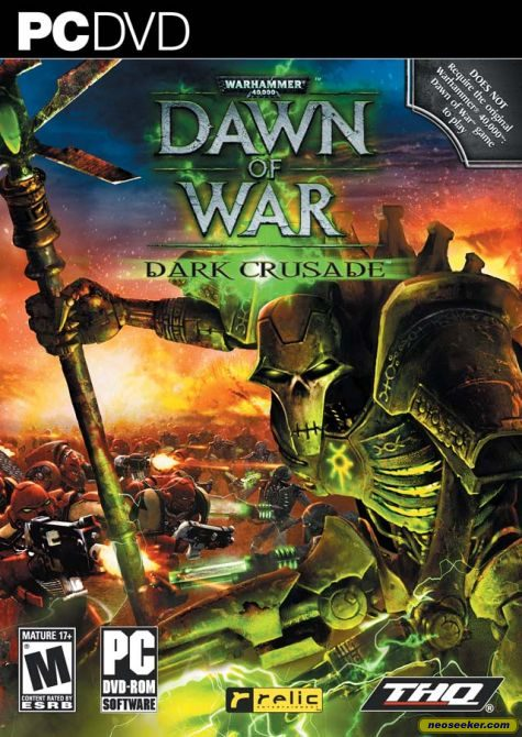 Warhammer 40,000: Dawn of War - Dark Crusade - PC - NTSC-U (North America)