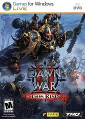 Box shot of Warhammer 40,000: Dawn of War II - Chaos Rising [North America]