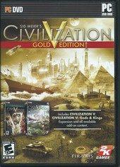 Box shot of Sid Meier's Civilization V [North America]