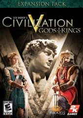 Box shot of Sid Meier's Civilization V: Gods & Kings [North America]
