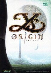 Box shot of Ys Origin [Japan]