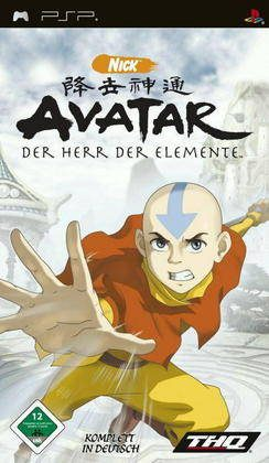 Avatar the last airbender psp pal europe