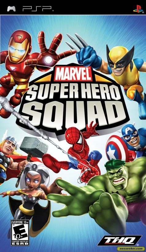 Marvel Super Hero Squad - PSP - NTSC-U (North America)
