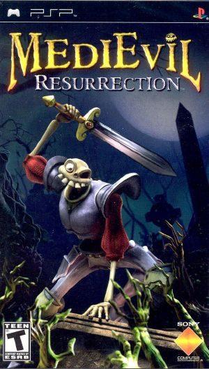 MediEvil Resurrection - PSP - NTSC-U (North America)