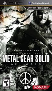 Box shot of Metal Gear Solid: Peace Walker [North America]