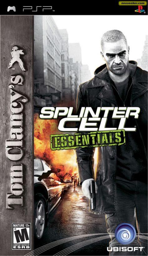 Tom Clancy's Splinter Cell Essentials - PSP - NTSC-U (North America)