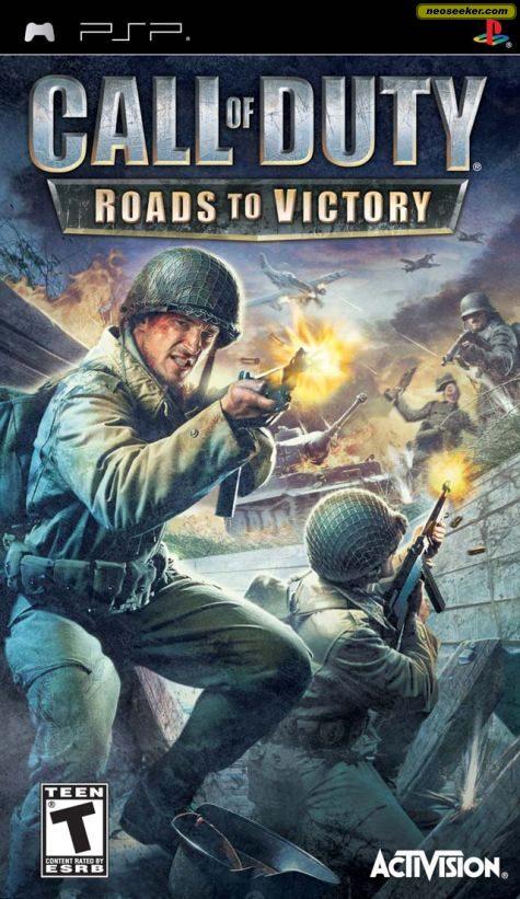 Call of Duty: Roads to Victory - PSP - NTSC-U (North America)