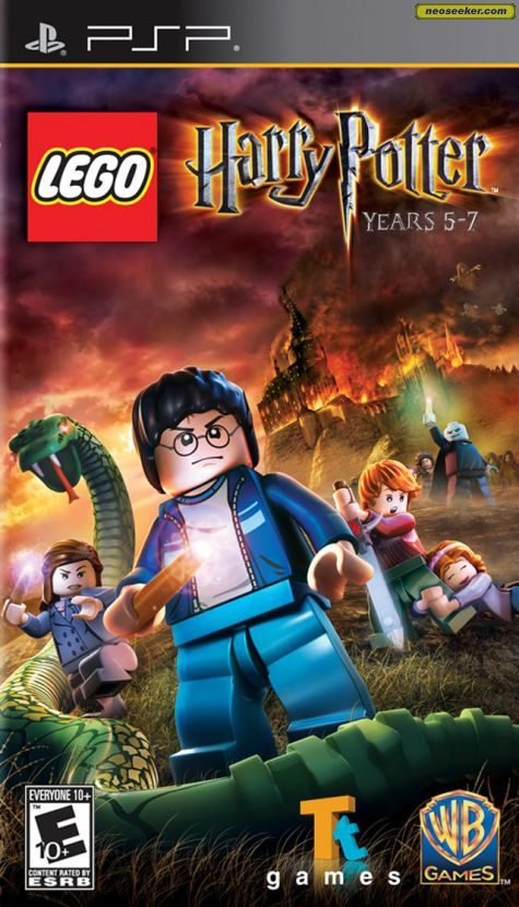 LEGO Harry Potter: Years 5-7 - PSP - NTSC-U (North America)