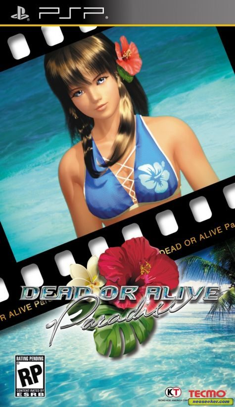 Dead or Alive Paradise  - PSP - NTSC-U (North America)
