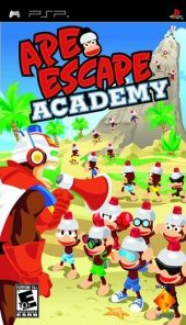 Box shot of Ape Escape Academy [North America]