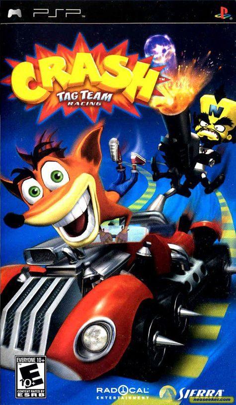Crash Tag Team Racing - PSP - NTSC-U (North America)