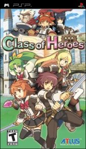 Class of Heroes (North America Boxshot)