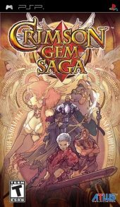 Box shot of Crimson Gem Saga [North America]
