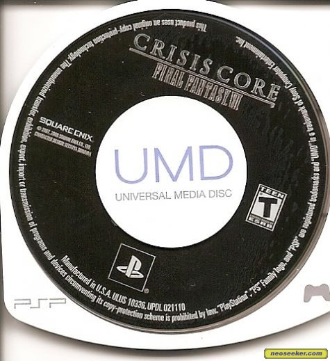 Crisis Core: Final Fantasy VII - PSP - NTSC-U (North America)