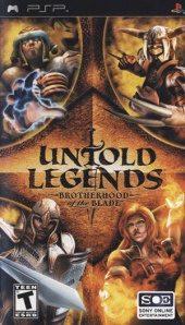 Box shot of Untold Legends: Brotherhood of the Blade [North America]