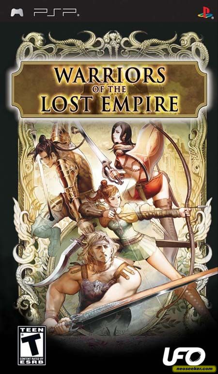 Warriors of the Lost Empire - PSP - NTSC-U (North America)