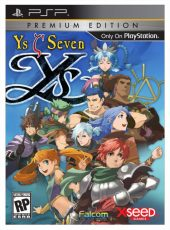 Box shot of Ys Seven [North America]
