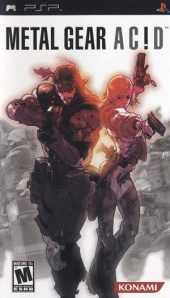 Box shot of Metal Gear Acid [North America]