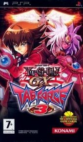 Box shot of Yu-Gi-Oh! Duel Monsters GX: Tag Force 3 (Import) [Europe]