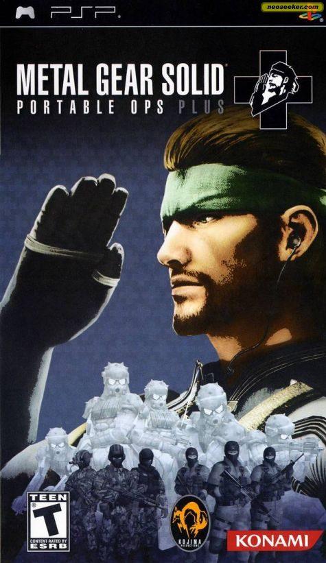 Metal Gear Solid: Portable Ops Plus - PSP - NTSC-U (North America)