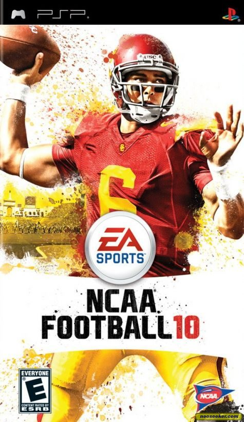 NCAA Football 10 - PSP - NTSC-U (North America)