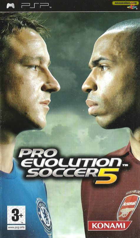 Pro Evolution Soccer 5 - PSP - PAL (Europe)