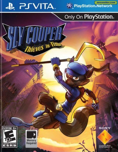 Sly Cooper: Thieves in Time - vita - NTSC-U (North America)