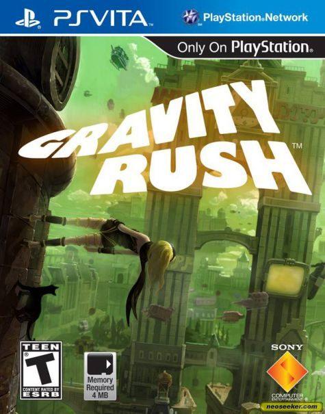Gravity Rush - vita - NTSC-U (North America)