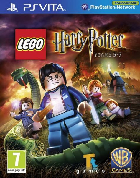 LEGO Harry Potter: Years 5-7 - vita - PAL (Europe)