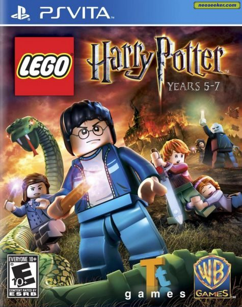 LEGO Harry Potter: Years 5-7 - vita - NTSC-U (North America)