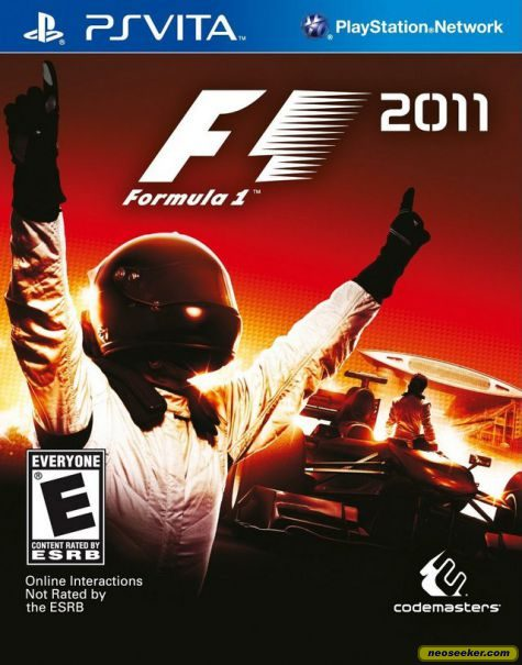 F1 2011 - vita - NTSC-U (North America)