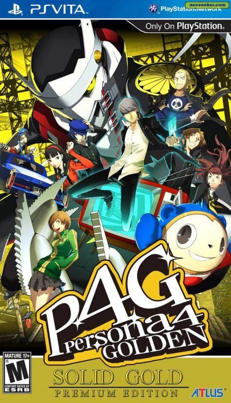 Persona 4: Golden - vita - NTSC-U (North America)