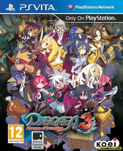 Disgaea 3: Absence of Detention - vita - PAL (Europe)