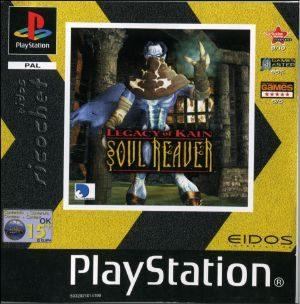 Legacy of Kain: Soul Reaver - PSX - PAL (Australia)