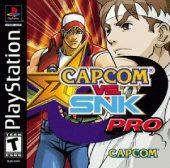Box shot of Capcom vs. SNK Pro [North America]