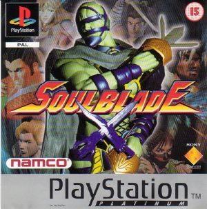 Soul Blade - PSX - PAL (Europe)