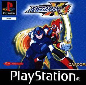Mega Man X4 - PSX - PAL (Europe)