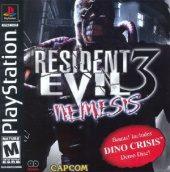 Box shot of Resident Evil 3: Nemesis [North America]